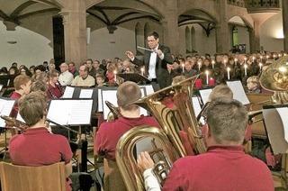 Stadtmusik spielt in Müllheim
