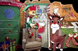 Weihnachtliches Gewinnspiel mit Rentier Rudolph