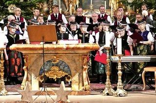 Mit Männergesangverein St. Märgen und Landfrauenchor St. Märgen in St. Märgen