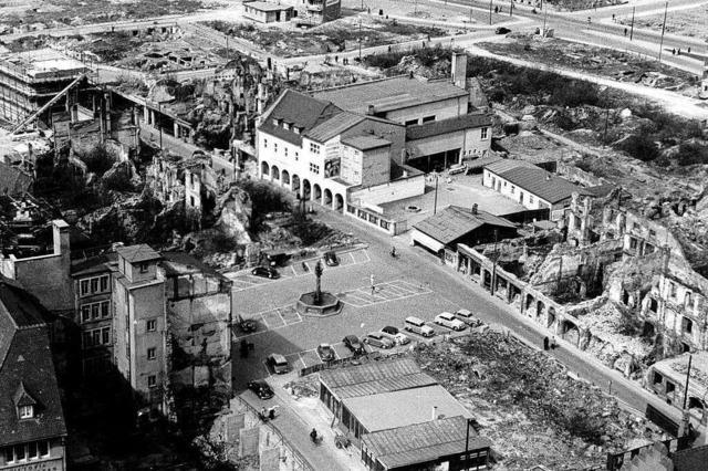 Als nach dem Krieg ein ganzes Viertel in Freiburg neu zu ordnen war
