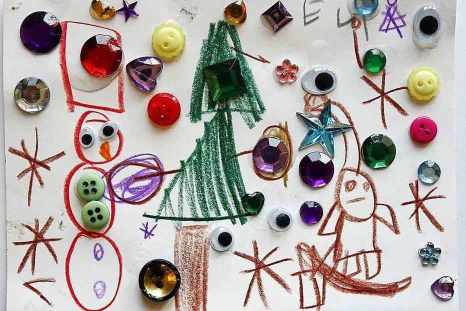"""Weihnachtskarten-Malwettbewerb von """"Kinder helfen Kindern"""""""