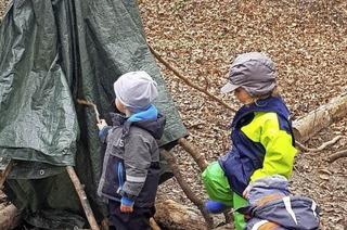Was machen die Kinder im Naturkindergarten?