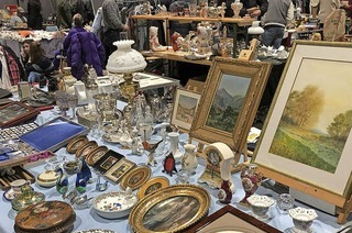 Riesenflohmarkt in der Messe