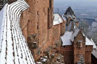 Hohkönigsburg im Elsass