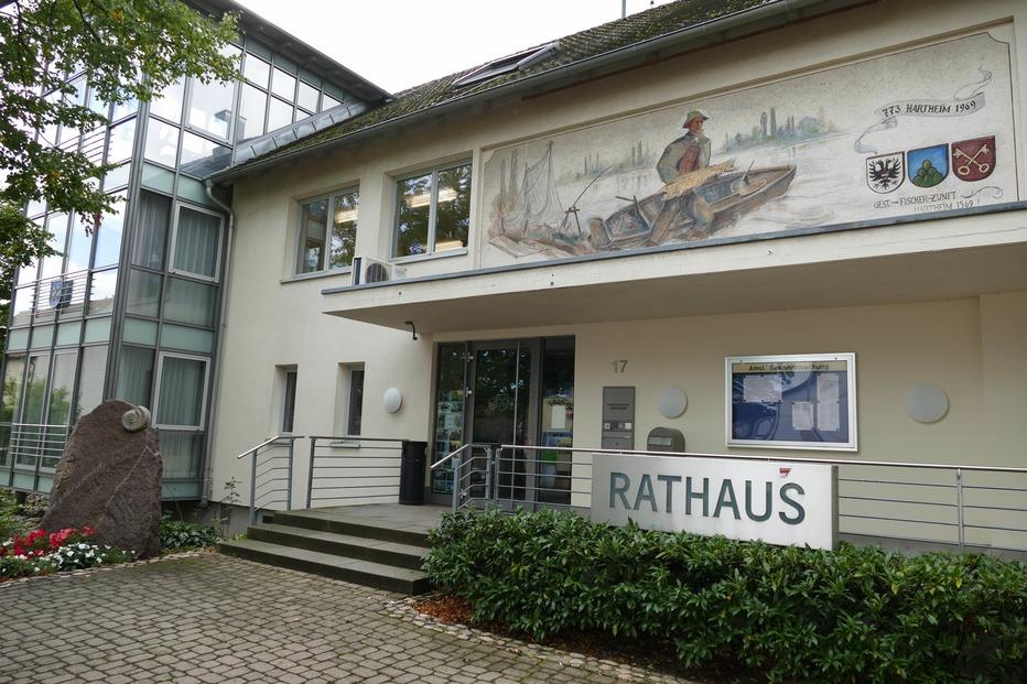 Rathaus - Hartheim am Rhein