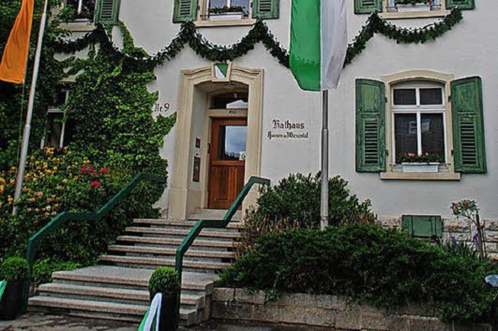 Rathaus - Hausen im Wiesental