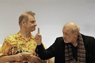 """""""Kunst"""" kommt mit den bekannten Schauspielern Luc Feit, Heinrich Schafmeister und Leonard Lansinkin die Oberrheinhalle Offenburg"""