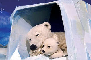 """Das Figurentheater Marotte zeigt """"Der kleine Eisbär"""""""