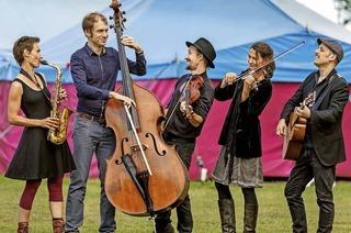 Chupchik wollen in Offenburg mit Balkan-Klezmer-Gypsy-Swing begeistern