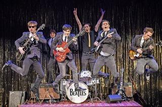 Film Backbeat über die Anfänge der Beatles als Schauspiel in Offenburg