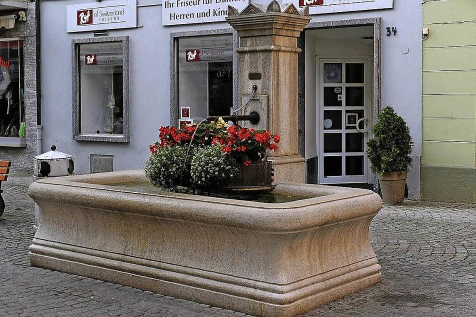 Rösslebrunnen - Bad Säckingen