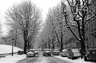 Die Karriere der Werthmannstraße als vierspurige Stadtumfahrung währte nicht lange