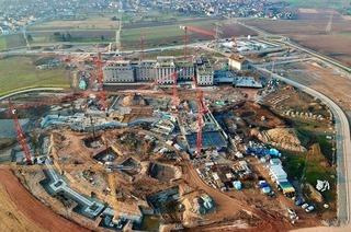 Europa-Park: Neues Hotel beim Wasserpark wächst und wächst