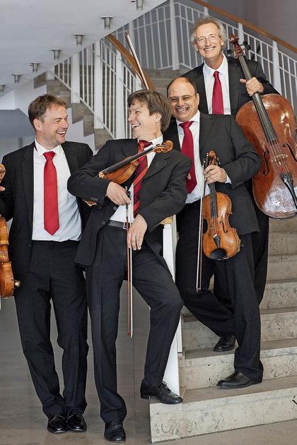 Das Hindemith-Quartett zu Gast in Laufen - Badische Zeitung TICKET