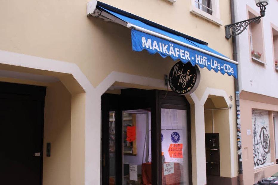 Maikäfer Plattenladen (geschlossen) - Freiburg