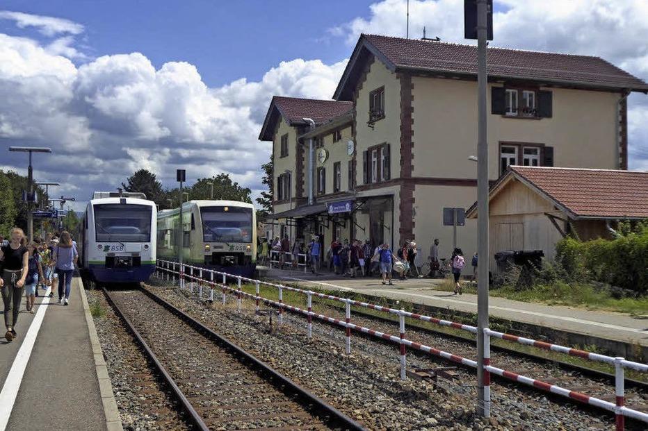 Bahnhof - Gottenheim
