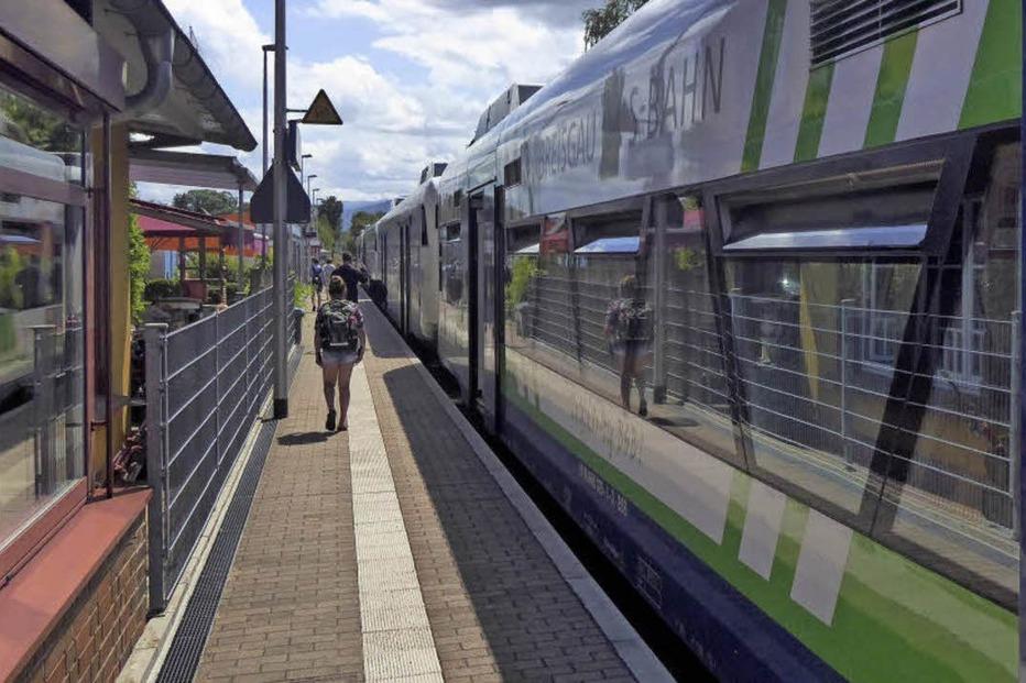 Bahnhof (Hugstetten) - March