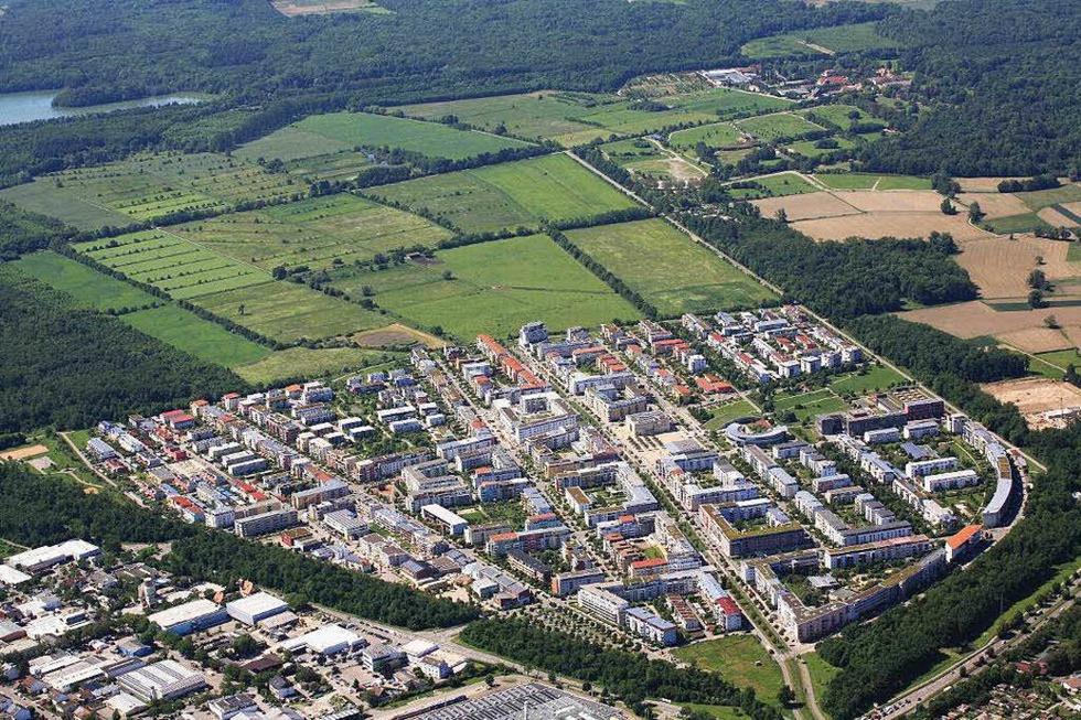 Stadtteil Rieselfeld - Freiburg