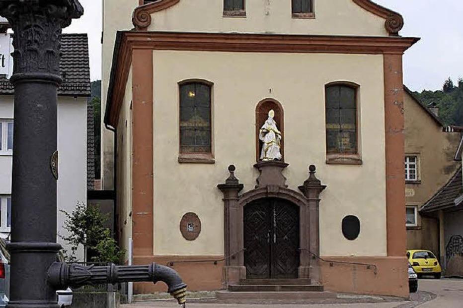 Kath. Kirche St. Arbogast (Wallburg) - Ettenheim