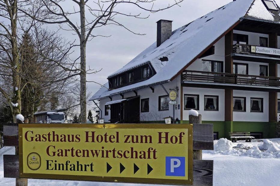 Gasthaus und Reiterhof zum Hof (Hofsgrund) - Oberried