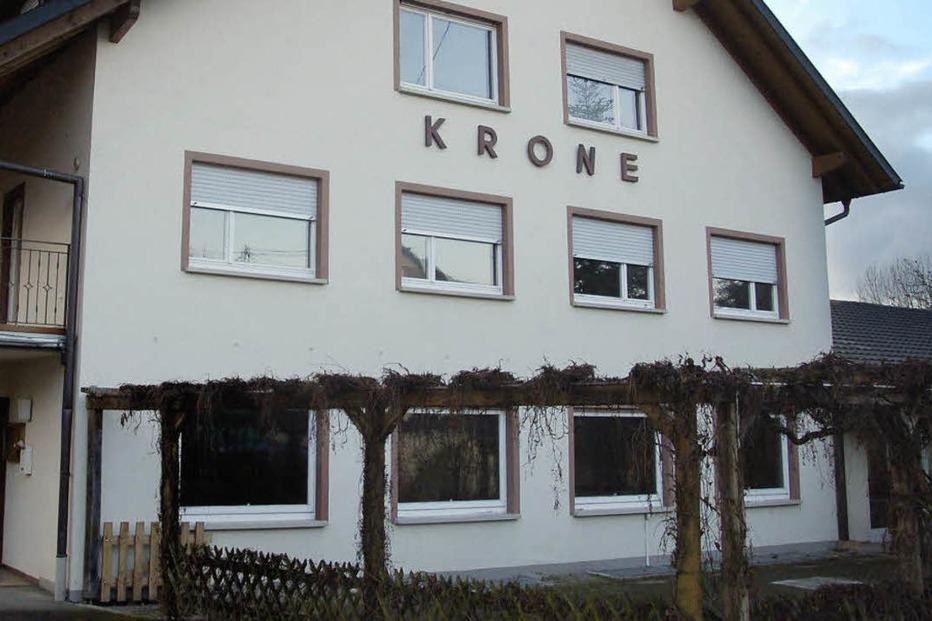 Gasthaus Krone Maugenhard (geschlossen) - Efringen-Kirchen