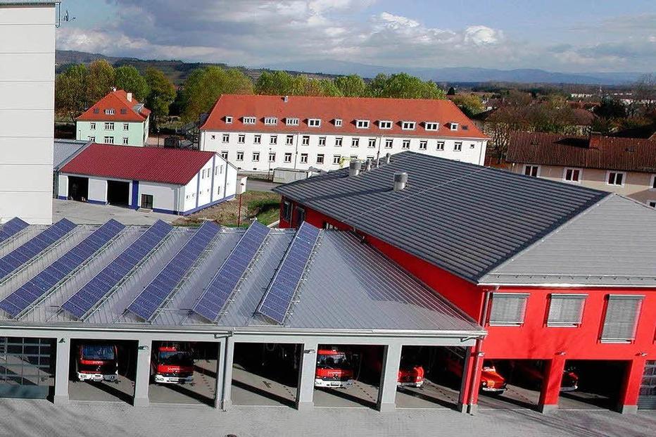 Feuerwehrgerätehaus - Breisach