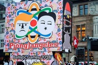 Trump und Kim Jong Un: Der Basler Morgenstreich 2018