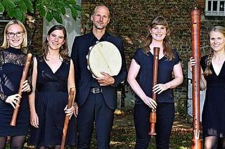 Flötenklasse von Annabelle Cavallie in Müllheim