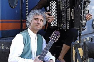 Akkordeon und Gitarre in der Rainhofscheune Kirchzarten
