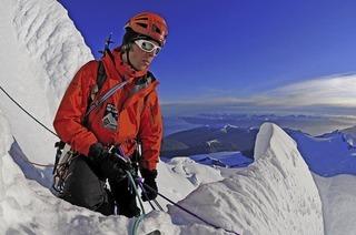 """Im Rahmen der Reihe """"Vision Erde"""" präsentiert Eiskletterer Robert Jasper seinen neuen Vortrag """"Bergsteigen am Ende der Welt"""" in Lörrach"""