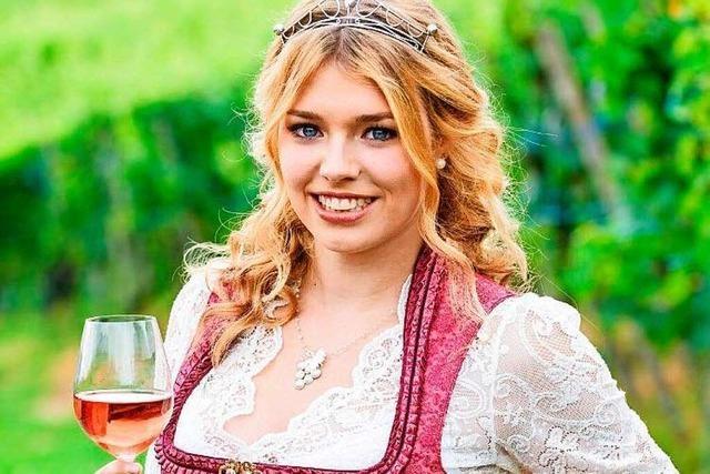 Anna-Lena Feger ist amtierende Gengenbacher Weinprinzessin
