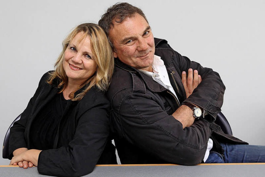 Sabine Esslinger und Eckhard Grauen (alias Hardle & Stups) in Gutach-Bleibach - Badische Zeitung TICKET