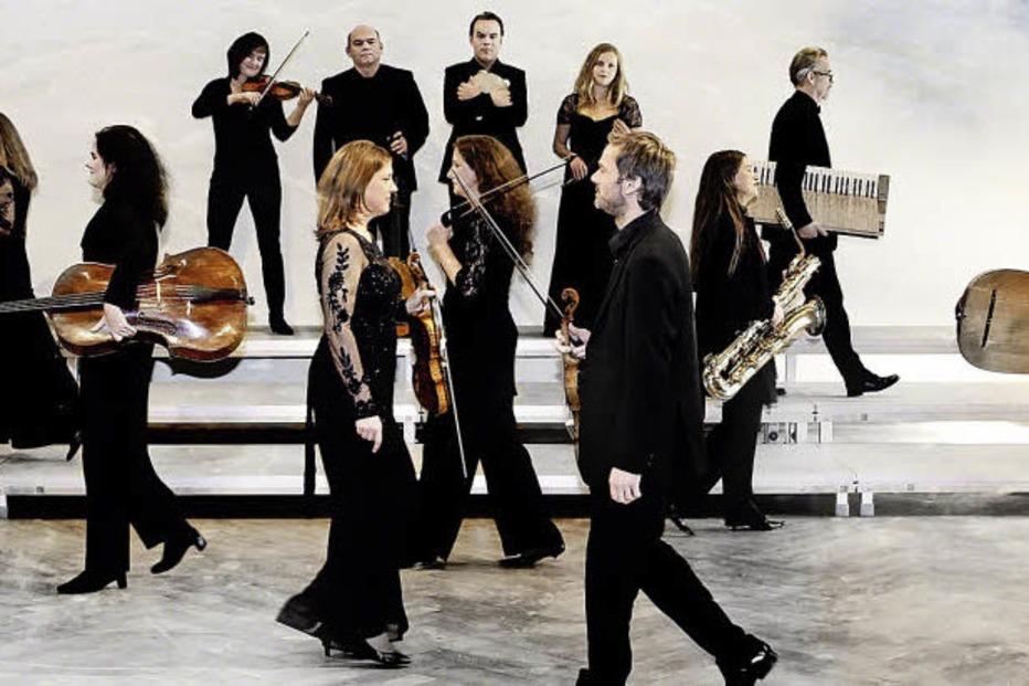 Die Lautten Compagney Berlin und Amarcord Plus mit einem Monteverdi-Programm im Burghof Lörrach - Badische Zeitung TICKET