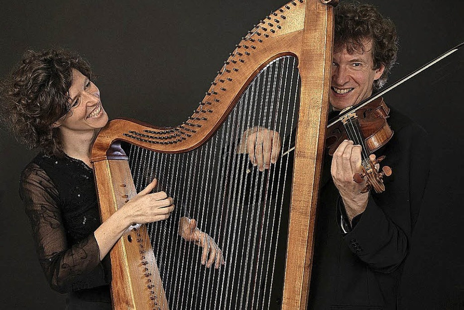 Folk mit Johanna Seitz (Barockharfe) und Christoph Mayer (Barockvioline) in Müllheim - Badische Zeitung TICKET