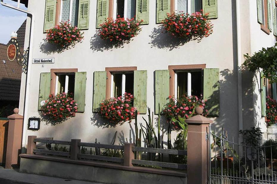 Gasthaus Kaiserstuhl (Niederrotweil) - Vogtsburg