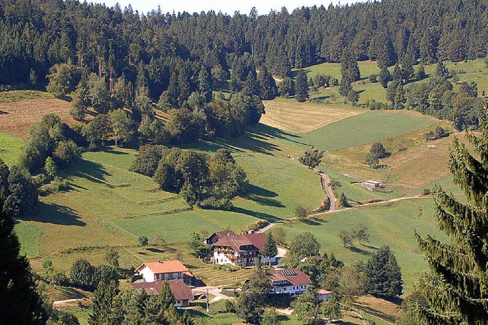 Ortsteil Pfaffenberg - Zell im Wiesental