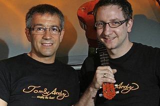Tom & Andy sowie DJ Eric Boy in Emmendingen-Kollmarsreute