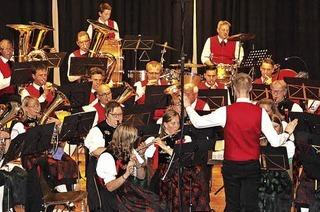Stadtmusik und Jugendkapelle in St. Blasien