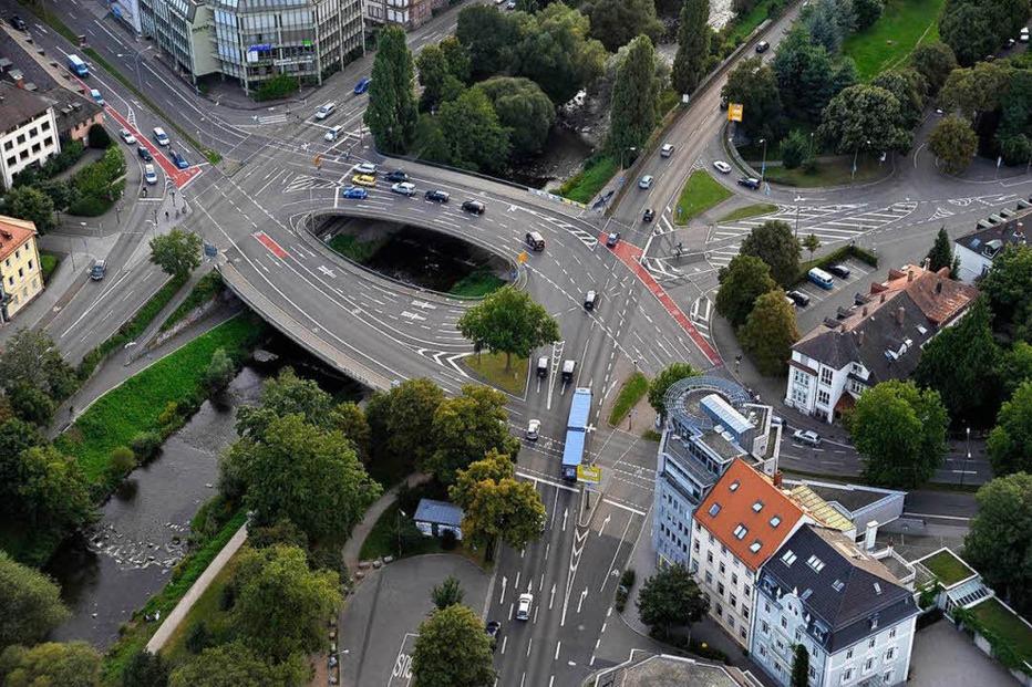Kronenbrücke - Freiburg