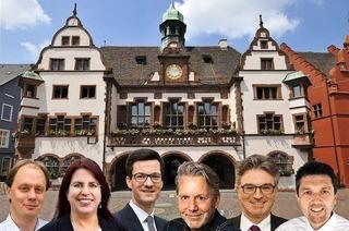 Sechs Bewerber gehen bei der OB-Wahl in Freiburg ins Rennen
