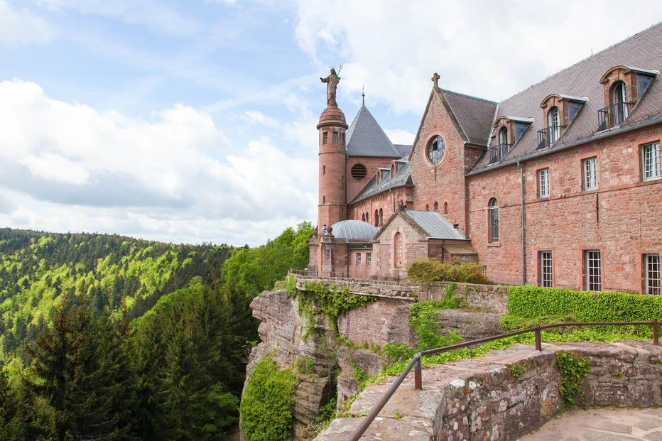 Mont-Saint-Odile (Kloster Odilienberg) - Ottrott
