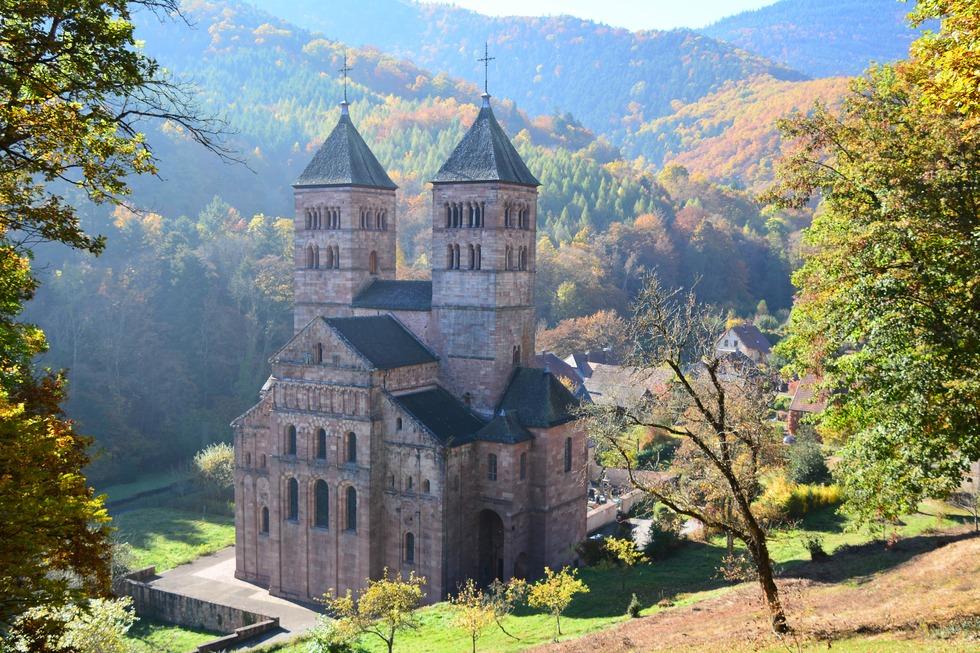Abteikirche Kloster Murbach - Murbach