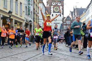 Mehr als 9000 Läufer haben sich für den Freiburg Marathon gemeldet