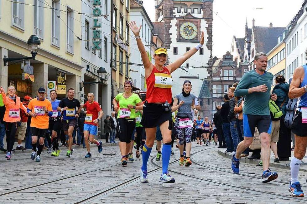 Mehr als 9000 Läufer haben sich für den Freiburg Marathon gemeldet - Badische Zeitung TICKET