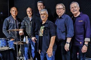 Die Big Daddies Revivalband spielt im Mehlsack