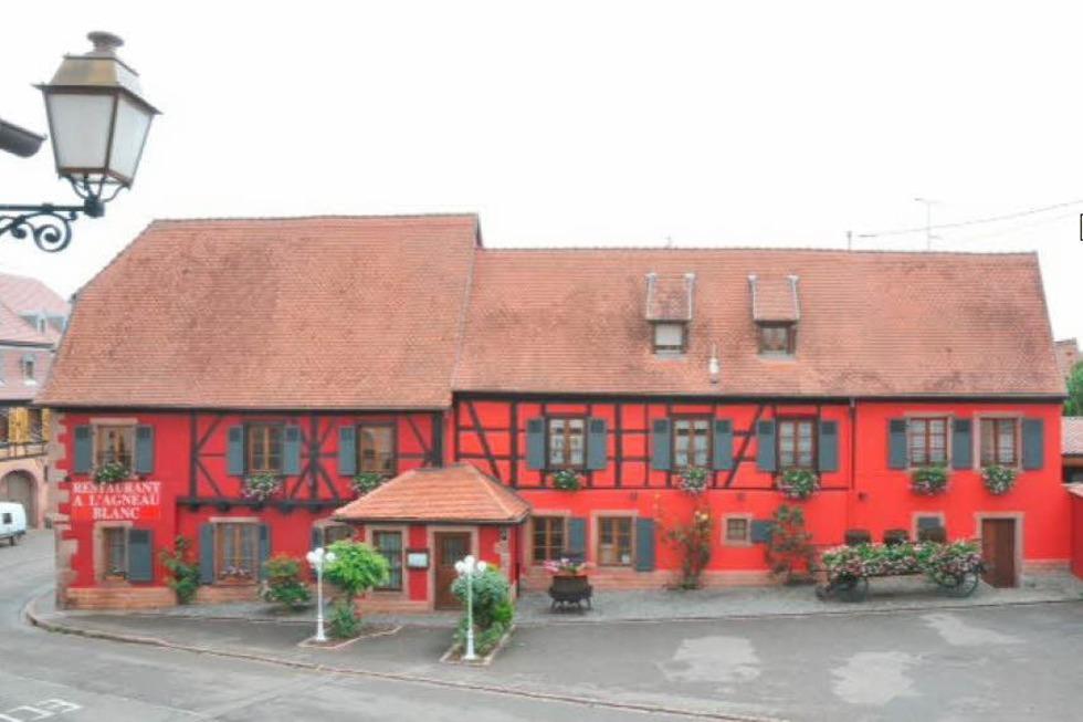 Auberge A l'Agneau Blanc - Beblenheim