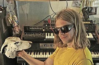 Siriusmo spielt ein Live-Set in der Kaserne Basel