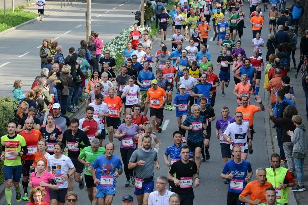 Am Sonntag wagt der Freiburg-Marathon den Neustart - Badische Zeitung TICKET