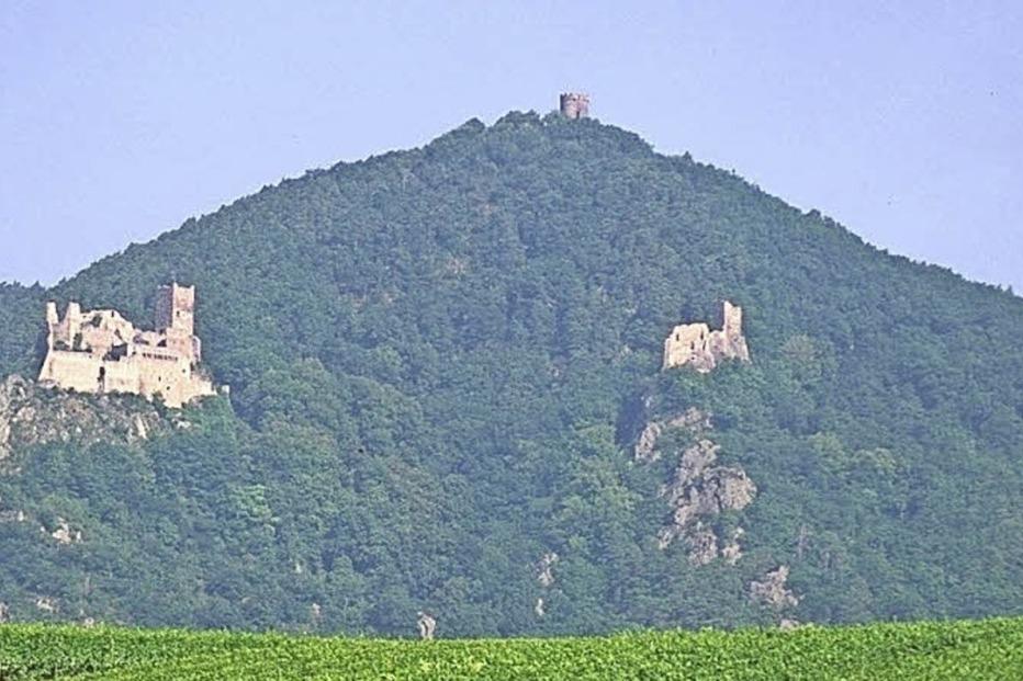 Ulrichsburg (Château de Saint-Ulrich) - Ribeauville