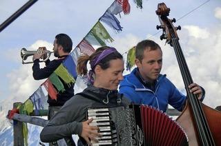 """Das Trio Jütz bei """"Akustik in Agathen"""" in Schopfheim"""